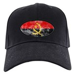 Angola Flag Black Cap