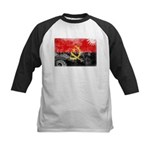 Angola Flag Kids Baseball Jersey