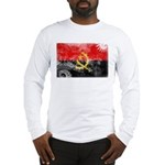 Angola Flag Long Sleeve T-Shirt