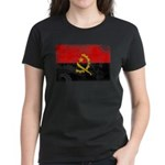 Angola Flag Women's Dark T-Shirt