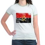 Angola Flag Jr. Ringer T-Shirt