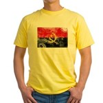 Angola Flag Yellow T-Shirt