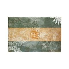 Argentina Flag Rectangle Magnet (10 pack)