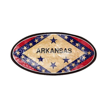 Arkansas Flag Patches