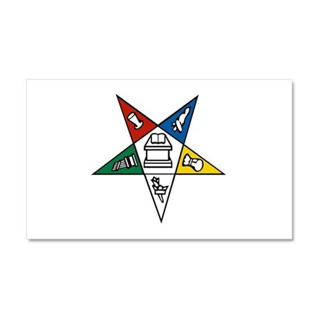Order of the Eastern Star Car Magnet 20 x 12