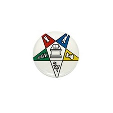 Order of the Eastern Star Mini Button (100 pack)