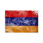 Armenia Flag Rectangle Magnet (100 pack)