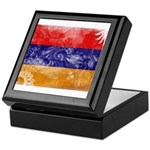 Armenia Flag Keepsake Box