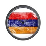 Armenia Flag Wall Clock