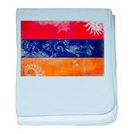 Armenia Flag baby blanket