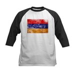 Armenia Flag Kids Baseball Jersey