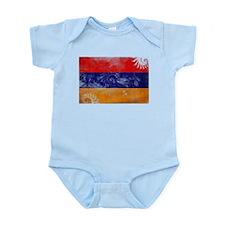 Armenia Flag Infant Bodysuit