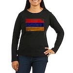 Armenia Flag Women's Long Sleeve Dark T-Shirt