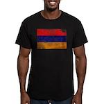 Armenia Flag Men's Fitted T-Shirt (dark)