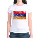 Armenia Flag Jr. Ringer T-Shirt