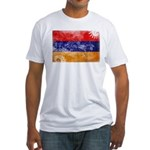Armenia Flag Fitted T-Shirt
