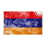 Armenia Flag 38.5 x 24.5 Wall Peel