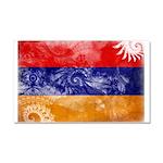 Armenia Flag Car Magnet 20 x 12