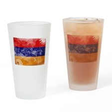 Armenia Flag Drinking Glass