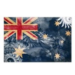 Australia Flag Postcards (Package of 8)