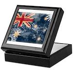 Australia Flag Keepsake Box