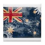 Australia Flag Tile Coaster