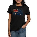 Australia Flag Women's Dark T-Shirt