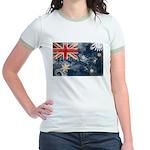 Australia Flag Jr. Ringer T-Shirt