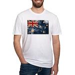 Australia Flag Fitted T-Shirt