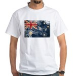 Australia Flag White T-Shirt
