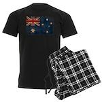 Australia Flag Men's Dark Pajamas