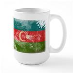 Azerbaijan Flag Large Mug