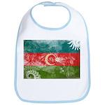 Azerbaijan Flag Bib
