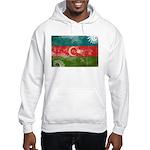 Azerbaijan Flag Hooded Sweatshirt