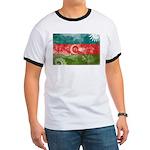 Azerbaijan Flag Ringer T