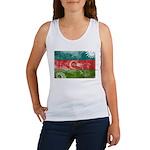 Azerbaijan Flag Women's Tank Top