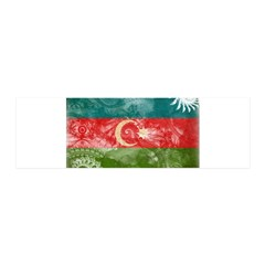 Azerbaijan Flag 42x14 Wall Peel