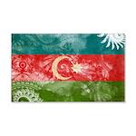 Azerbaijan Flag 22x14 Wall Peel