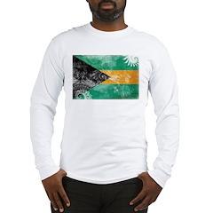 Bahamas Flag Long Sleeve T-Shirt