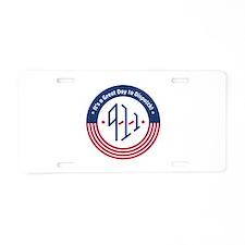Cool 911 dispatcher Aluminum License Plate