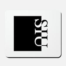 SIU Typography Mousepad
