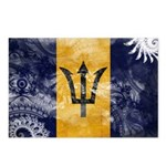 Barbados Flag Postcards (Package of 8)