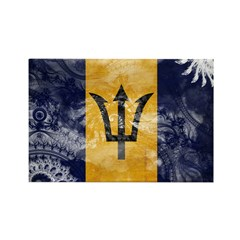 Barbados Flag Rectangle Magnet (100 pack)