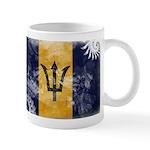Barbados Flag Mug