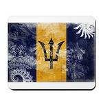 Barbados Flag Mousepad
