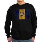 Barbados Flag Sweatshirt (dark)