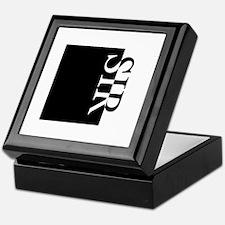 SIR Typography Keepsake Box
