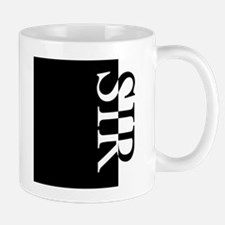 SIR Typography Mug