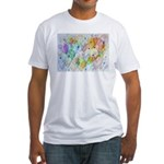 Community Hearts Color Fitted T-Shirt