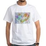 Community Hearts Color White T-Shirt